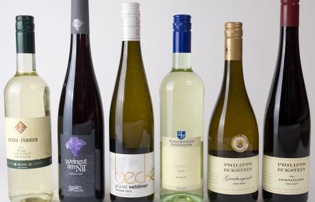 Proefpakket Duitse witte en rode wijn