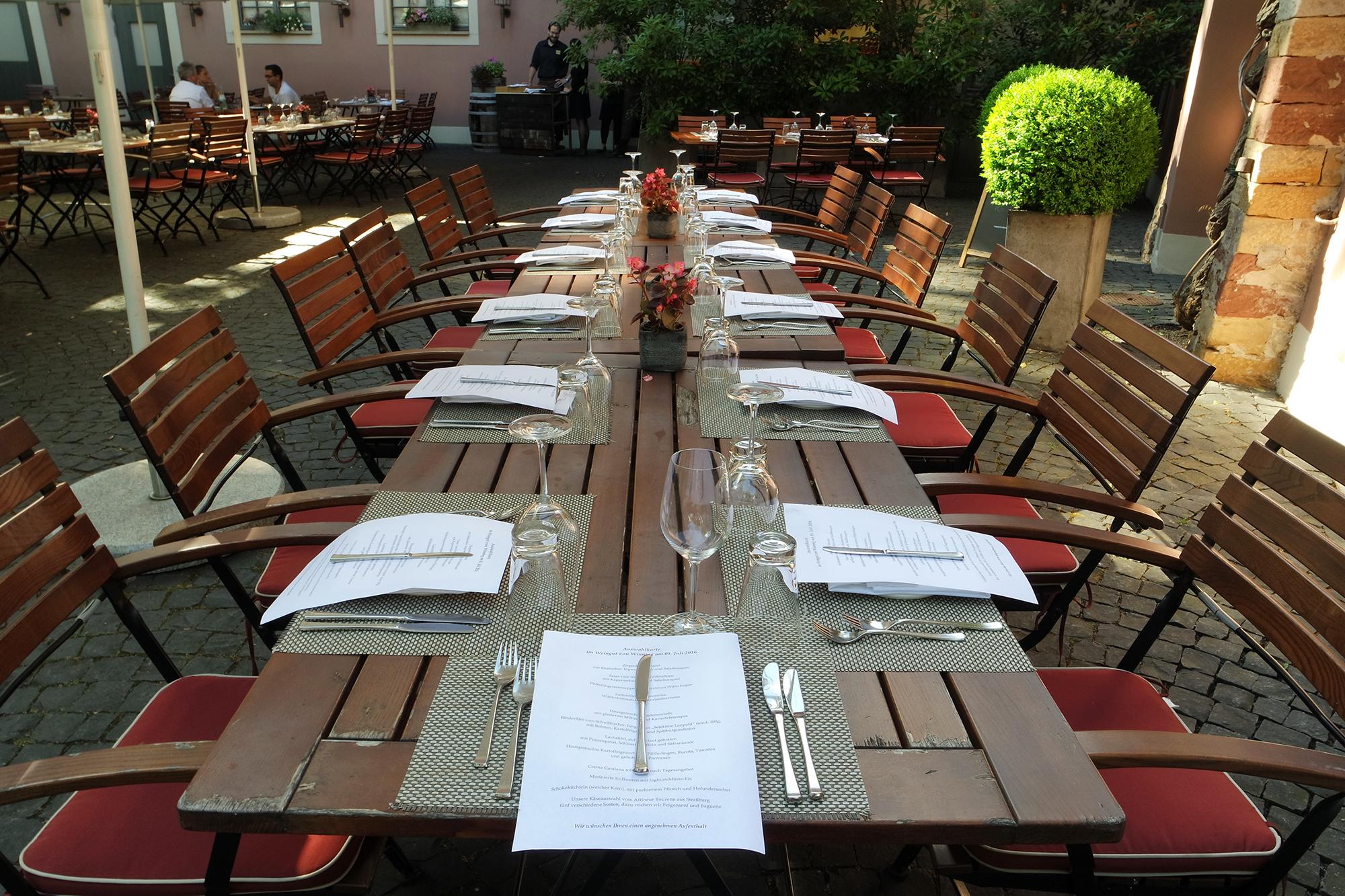 Restaurant Leopold in Deidesheim